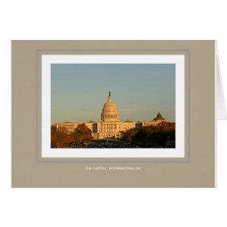 The Capital, Washington, DC Card