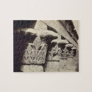 The Capitals of the Portico, Temple of Khnum, Esna Jigsaw Puzzle