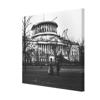 The Capitol Building in Washington D.C. Canvas Print