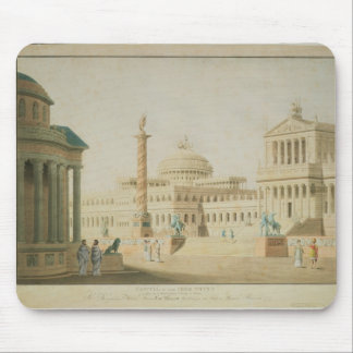 The Capitol set design for Titus Mouse Pad