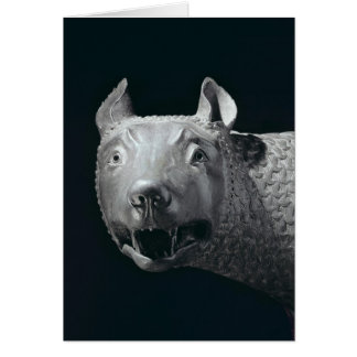 The Capitoline She-Wolf Greeting Card