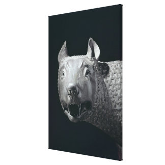 The Capitoline She-Wolf Gallery Wrapped Canvas