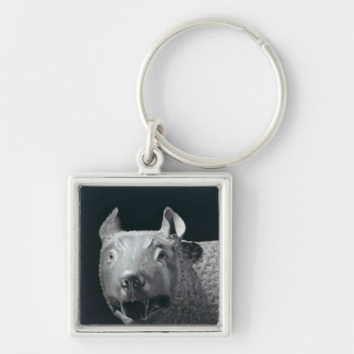 The Capitoline She-Wolf Key Chains