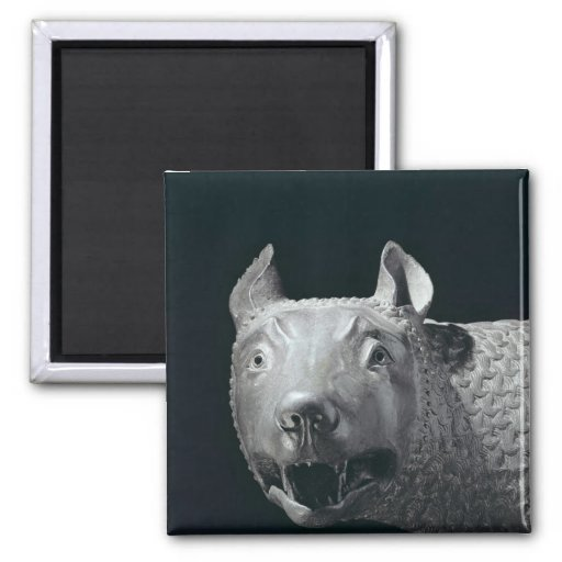 The Capitoline She-Wolf Refrigerator Magnet