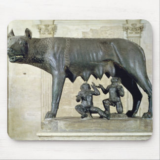 The Capitoline She-Wolf Mouse Mat