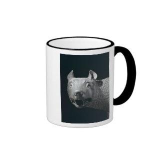 The Capitoline She-Wolf Ringer Mug