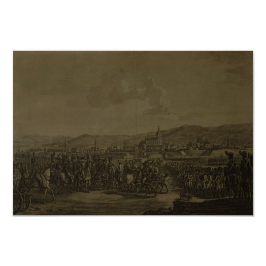 The Capitulation of Ulm in October 1805 Poster