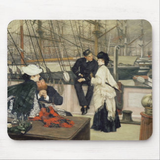 The Captain and the Mate, 1873 Mousepads