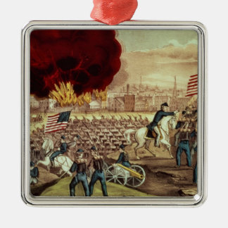 The Capture of Atlanta by the Union Army Christmas Ornament