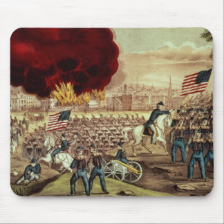 The Capture of Atlanta by the Union Army Mouse Mat
