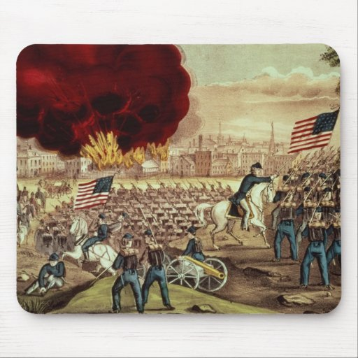 The Capture of Atlanta by the Union Army Mousepads