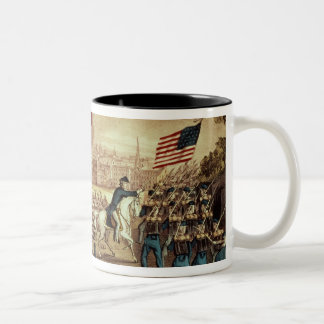 The Capture of Atlanta by the Union Army Two-Tone Coffee Mug
