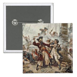 The Capture of Blackbeard Pins