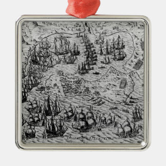 The Capture of Cadiz, 21 June 1596 Christmas Ornament