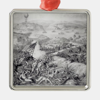 The Capture of El Caney, El Paso Christmas Ornament