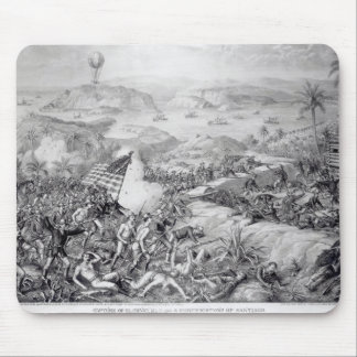 The Capture of El Caney, El Paso Mouse Mat