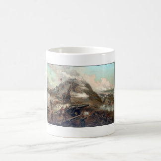 The Capture Of Fort Fisher -- Civil War Mugs