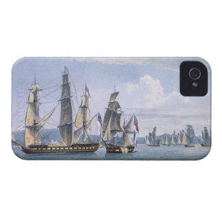 The Capture of Le Sparviere on 3rd May, 1810, engr iPhone 4 Case-Mate Cases