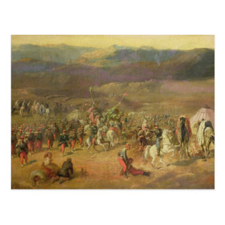 The Capture of the Retinue of Abd-el-Kader Post Card