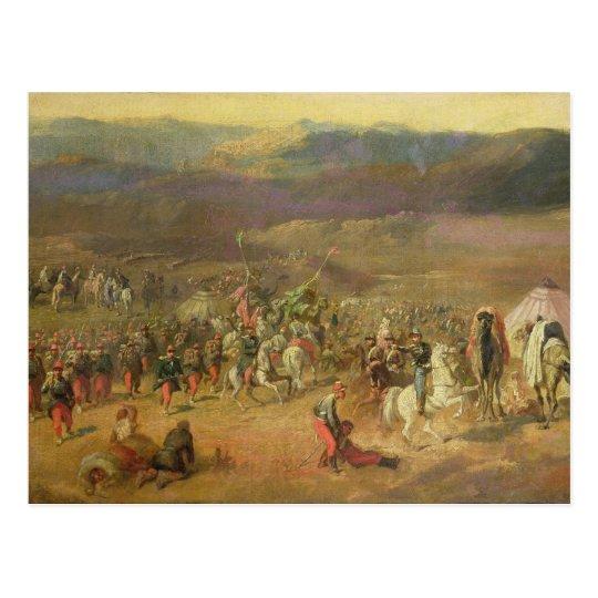 The Capture of the Retinue of Abd-el-Kader Postcard