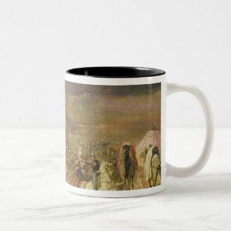 The Capture of the Retinue of Abd-el-Kader Two-Tone Coffee Mug