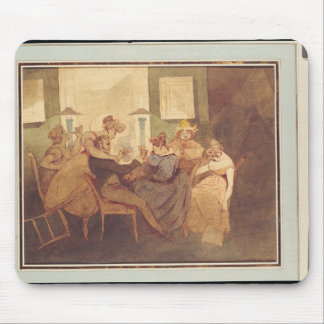 The Card Game, after 1830 Mouse Pad