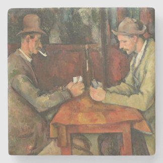 The Card Players, 1893-96 2 Stone Coaster