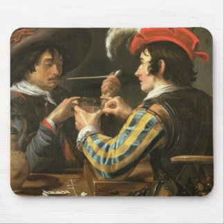 The Card Players Mouse Mat