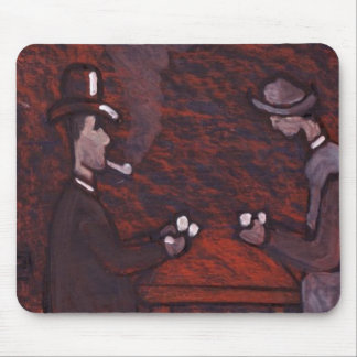 the card players mousemat