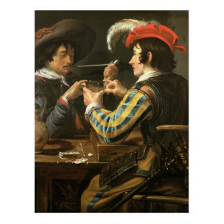 The Card Players Postcard
