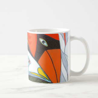 the cardinal and the seagull mug