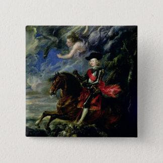 The Cardinal Infante Ferdinand 15 Cm Square Badge