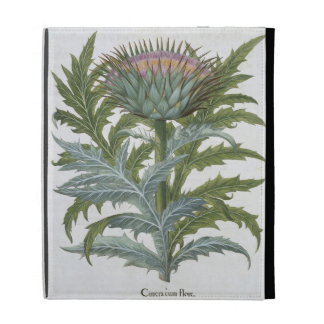 The Cardoon, from the 'Hortus Eystettensis' by Bas iPad Folio Case