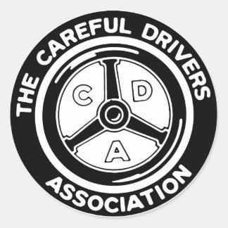 The Careful Drivers Association Sticker