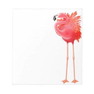 The Caribbean Pink Flamingo Notepad