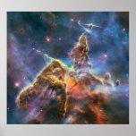 "The Carina Nebula ""Mystic Mountain"" Poster"