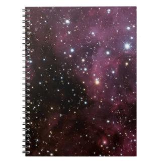 The Carina Nebula (NGC 3372) Spiral Note Books