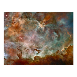 The Carina Nebula Postcard