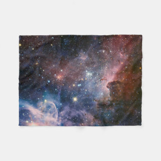 The Carina Nebula's hidden secrets Fleece Blanket