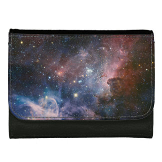 The Carina Nebula's hidden secrets Leather Wallet