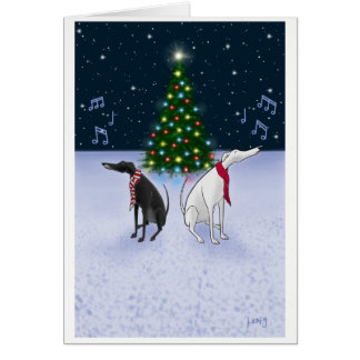 The Carol Hounds Card