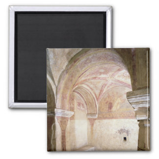 The Carolingian frescoes in the inner crypt Magnet