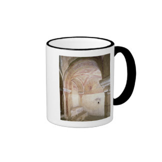 The Carolingian frescoes in the inner crypt Mugs