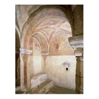 The Carolingian frescoes in the inner crypt Postcard
