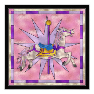 The Carousel Horse - SRF Personalized Invitation