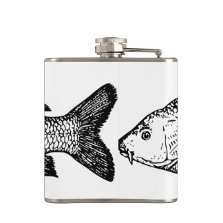 The carp hip flask! hip flask