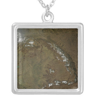 The Carpathian Mountains Silver Plated Necklace