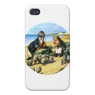 The Carpenter and the Walrus Consider Oysters iPhone 4/4S Cover