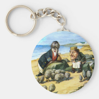 The Carpenter and the Walrus Consider Oysters Key Ring