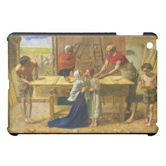 The Carpenter's Shop by John Everett Millais iPad Mini Cover